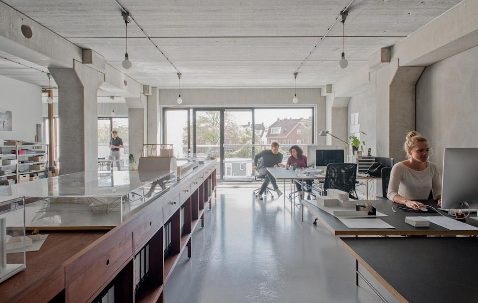 Serge Schoemaker Architects office
