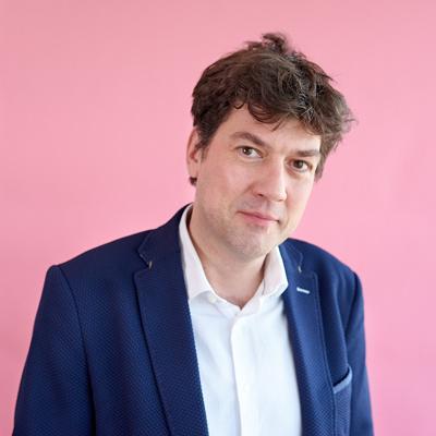 Creative director Lennart Booij
