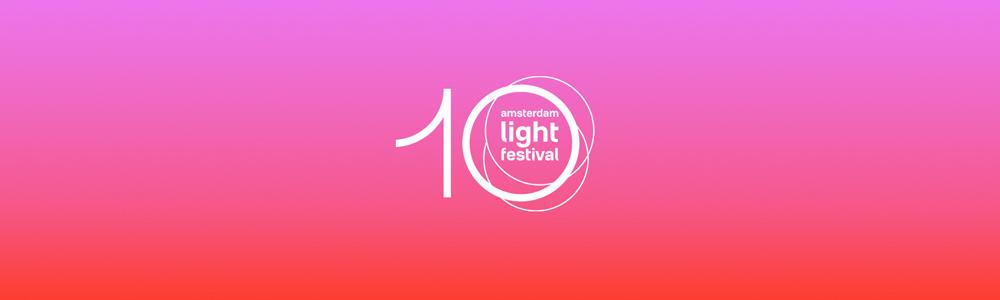 10 jaar Amsterdam Light Festival logo